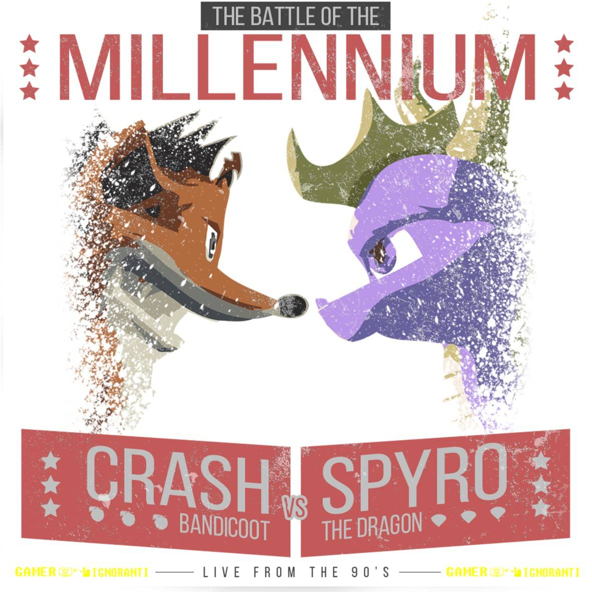 CRASH VS SPYRO