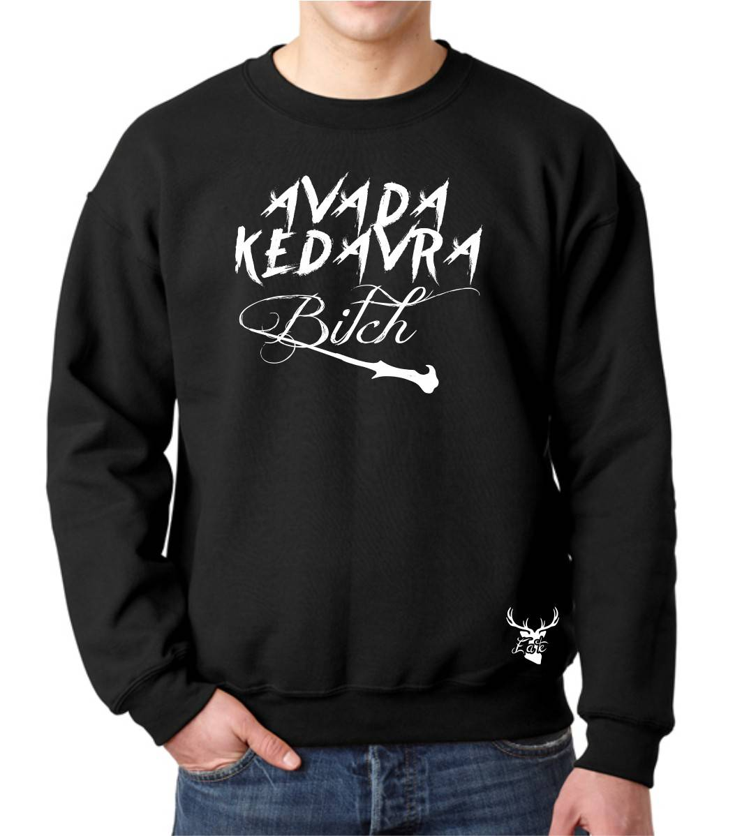 AVADA KEDAVRA BITCH FLEECE