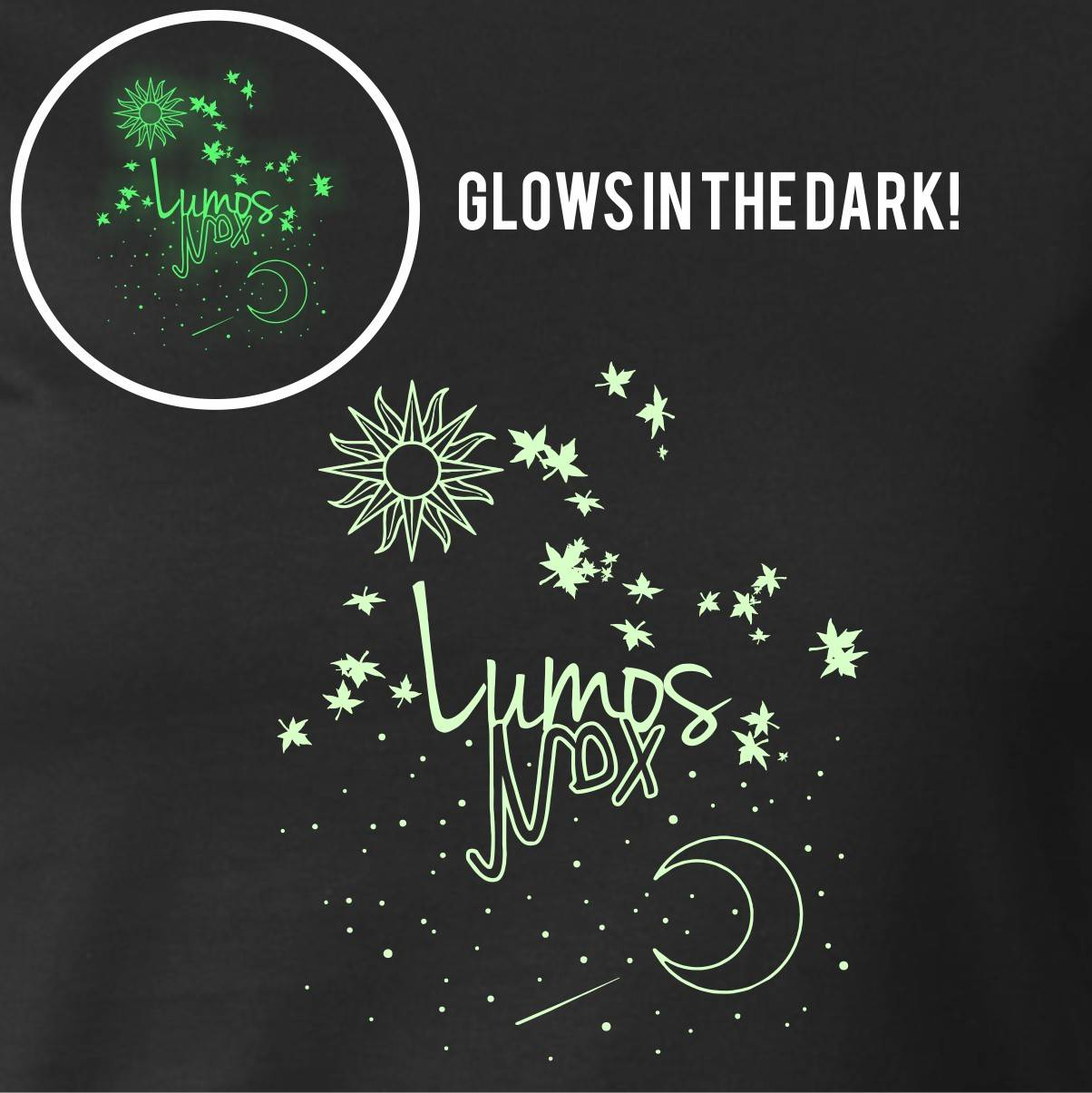 LUMOS NOX GLOW IN THE DARK