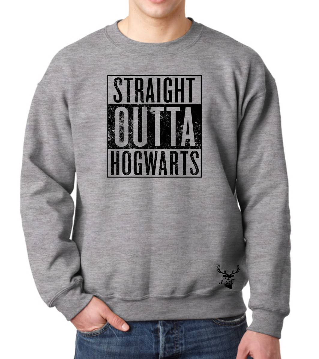 STRAIGHT OUTTA HOGWARTS FLEECE