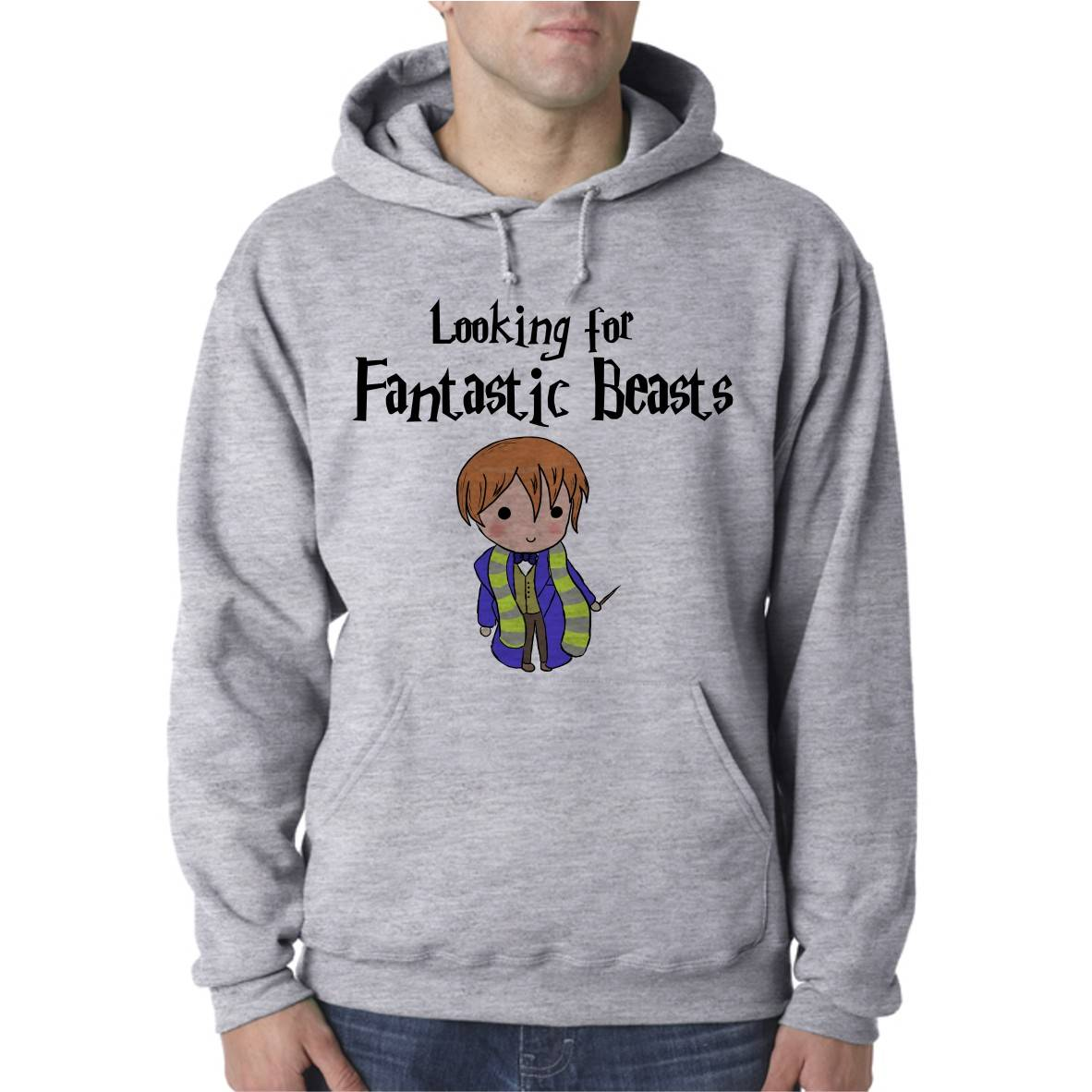 FANTASTIC BEASTS UNISEX HOODED