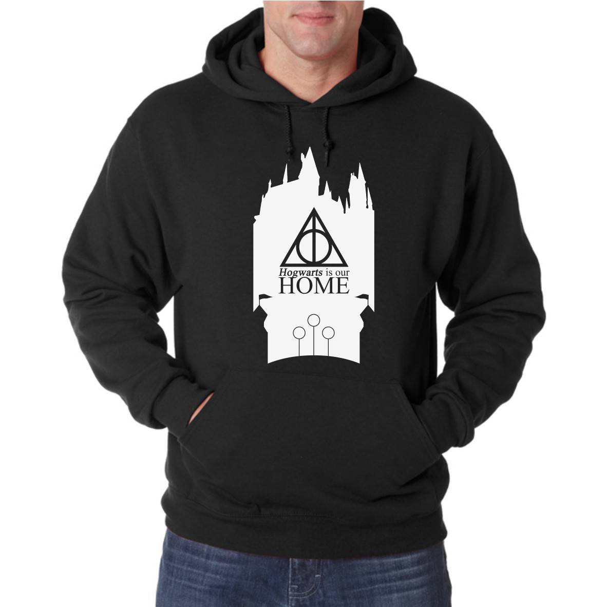 OUR HOME UNISEX HOODED