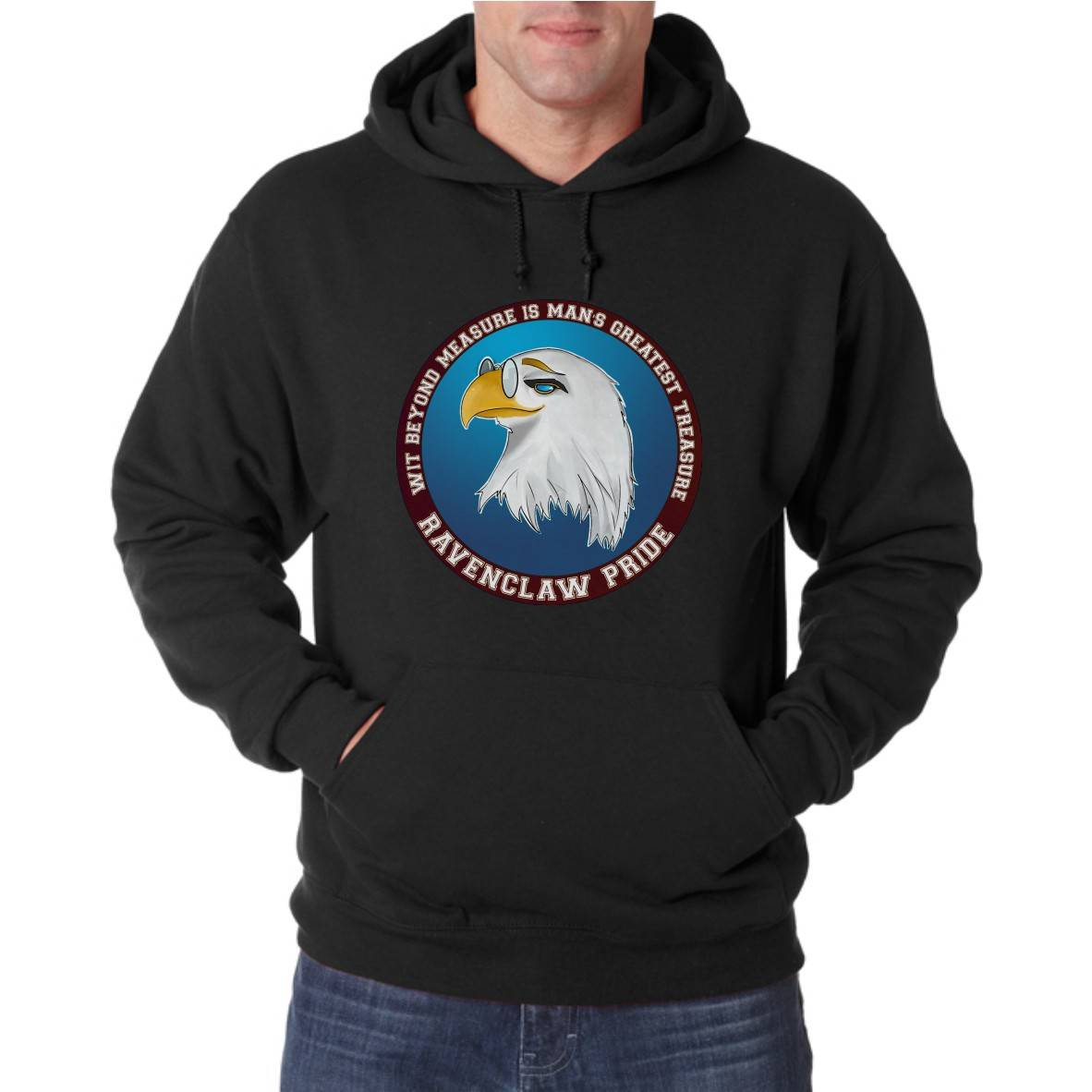 RAVENCLAW PRIDE UNISEX HOODED