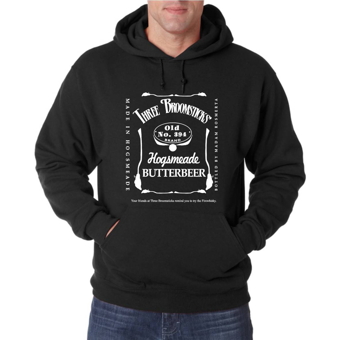 THREE BROOMSTICKS UNISEX HOODED