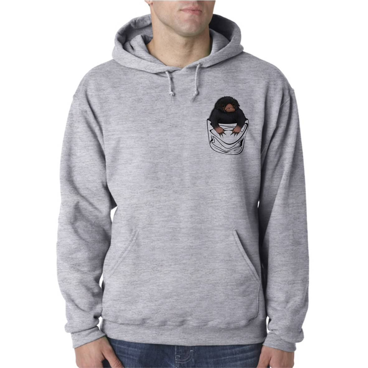 NIFFLER UNISEX HOODED