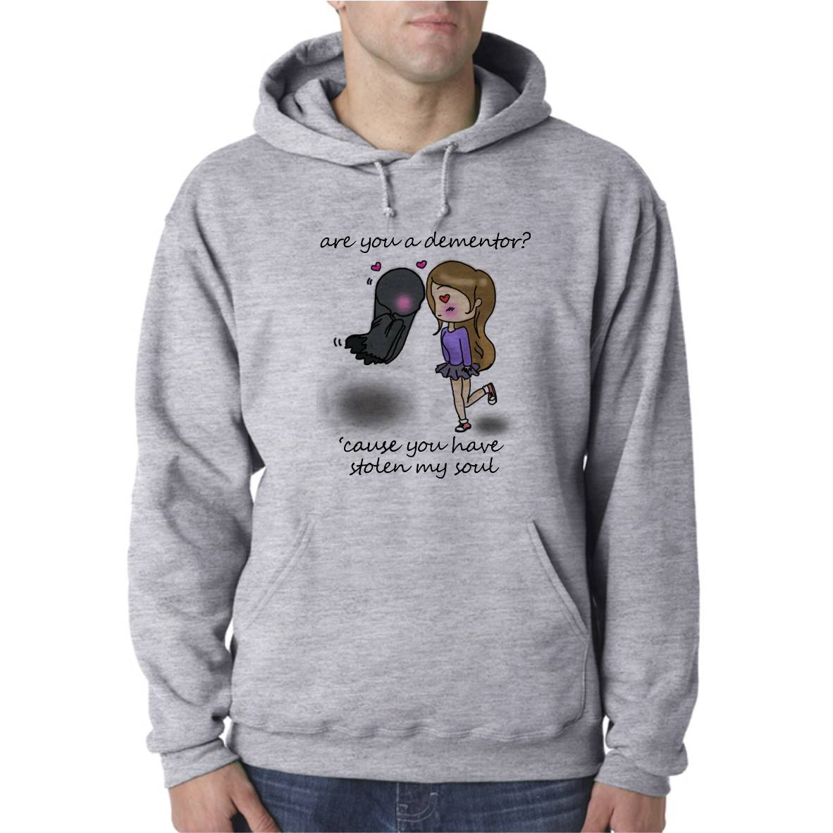 DEMENTOR IN LOVE UNISEX HOODED