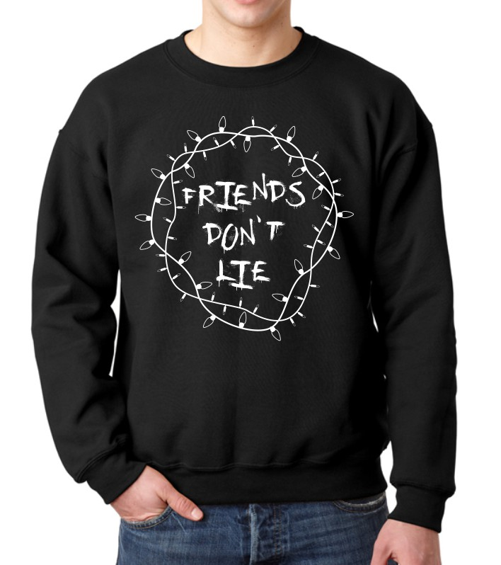 FRIENDS DON'T LIE FLEECE