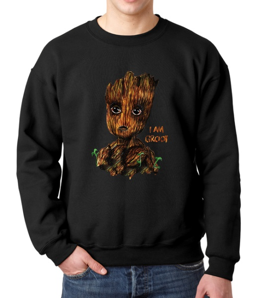 I AM GROOT FLEECE