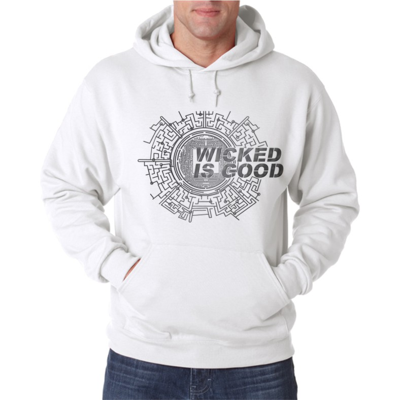 WICKED IS GOOD UNISEX HOODED