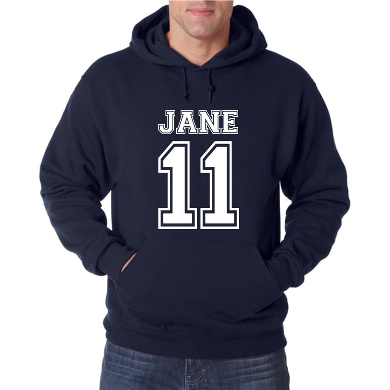 11 JANE UNISEX HOODED