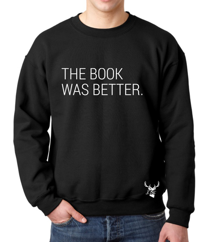 THE BOOK WAS BETTER FLEECE